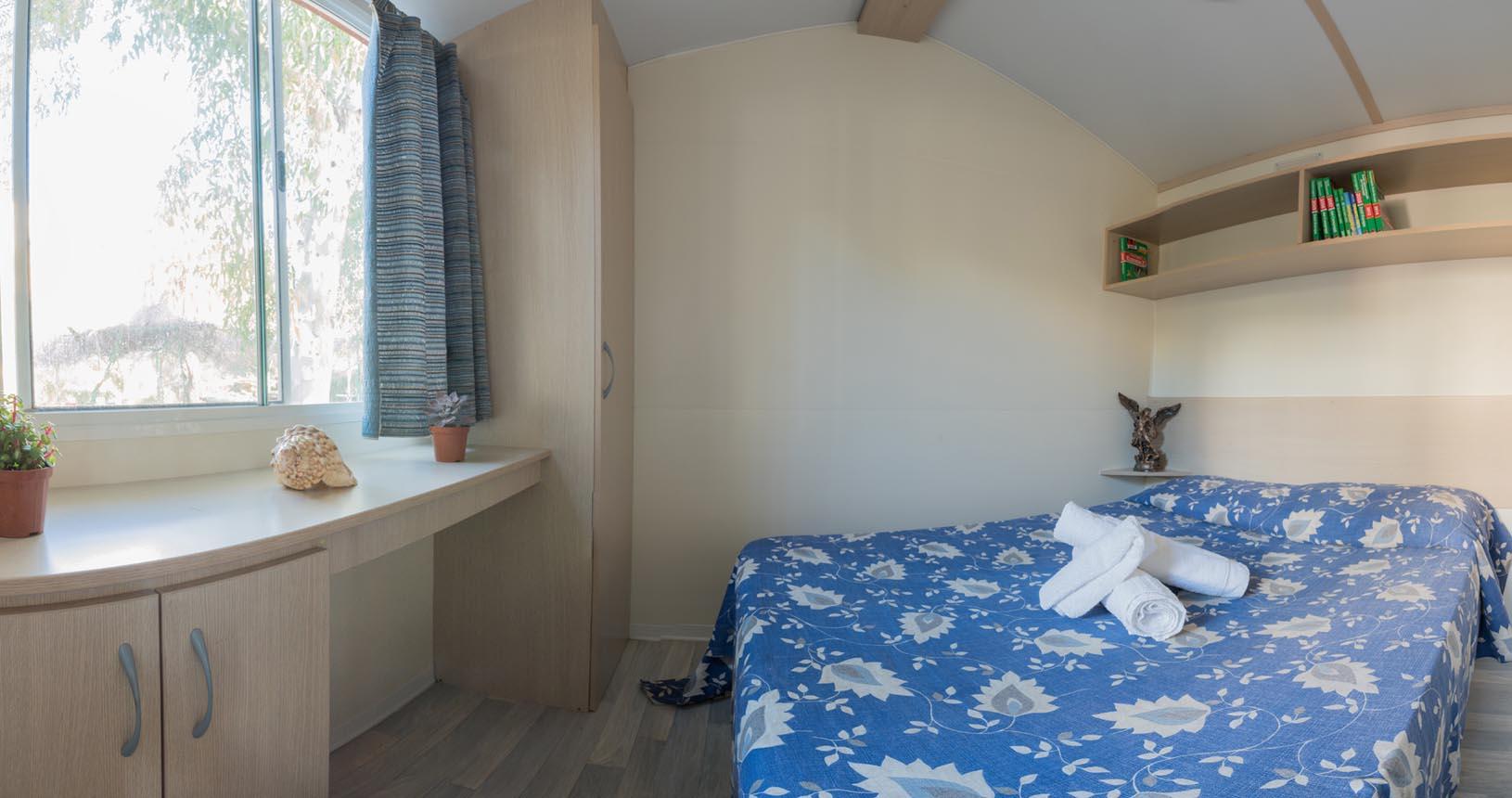 camera matrimoniale casa mobile marina - casa vacanze al mare sicilia- sporting club village mazara del vallo