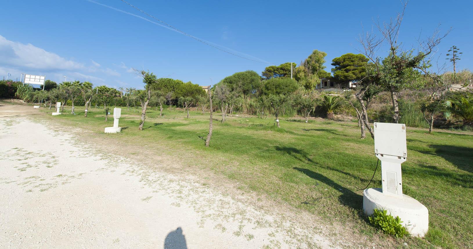Piazzole camping campeggio Sporting club Village Mazara del Vallo